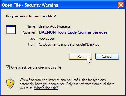 download daemon tools